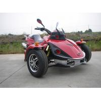 Racing Red Tricycle Motorcycle ATV 250CC Single Cylinder With Chain Drive Manufactures