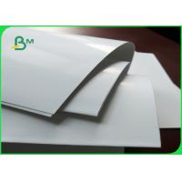 White C2S Art Paper Jumbo Roll Art Card 300gsm For Printing / Packaging Manufactures