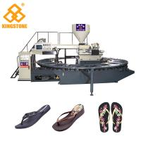 Automatic Slipper Chappal Making Machine , Flip Flop Making Machine For Men Shoes Manufactures
