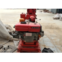 GK200 Water Well Drilling Rig With Hydraulic Feeding For Borehole Drilling Manufactures