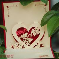 Decorative Paper Greeting Cards , Artificial Style Gift Invitation Cards Manufactures