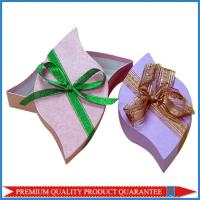 Leaf Shaped Top & Bottom Paper Gift Box Chipboard Material Custom Design Manufactures