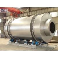 Low Fuel Consumption Sand Dryer Machine Rotating Drum Dryer With Burner Natural Gas Manufactures