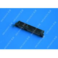 Black Slim Serial Attached SCSI Connector , Female SAS SFF 8482 Connector Manufactures