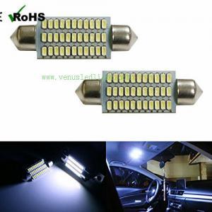 Car led festoon 42mm 41mm 3014 led Pate number light 33 smd led 33smd reading light ceilin Manufactures