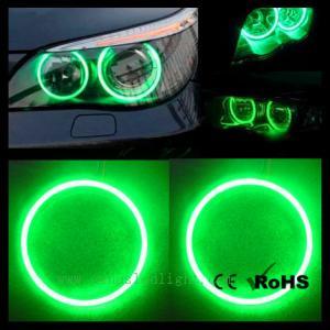 Green 20x 130mm 156leds Bright COB Led Angel Eyes Halo Ring Light Headlight G156 Manufactures