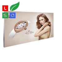 Textile Backlit Fabric Lightbox Frameless LED Light Frame 40mm Thickness Manufactures