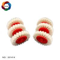 White color whool brush wheel 60*6*12mm Manufactures