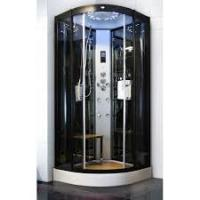 Sliding Open Style Corner Steam Shower Bath Cabin Spa Shower Units With Radio Manufactures