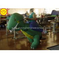 Large Halloween Nylon Adult Inflatable Dinosaur Costume For Party Game Manufactures