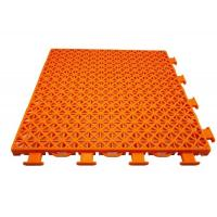 Buy cheap Modified PP Temporary Sports Flooring Anti UV Colorful Customized Pattern from wholesalers