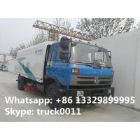 dongfeng 145 road sweewer truck for sale(2.5cbm water tank+6cbm wastes van), hot sale 4*2 8.5m3 street sweeping vehicle Manufactures