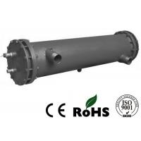 Chiller Corrosion Resistant Shell Tube Heat Exchangers Oil Cooler Single Circuit Manufactures