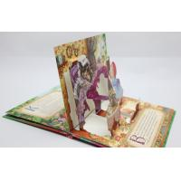 Christmas Greeting Card Pop Up Children Book Printing Service OED With 3D Manufactures