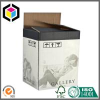 Double Wall BE Flute Corrugated Packaging Box with Flexo Black Color Print Manufactures