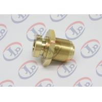 Copper Hexagon Bolt CNC Machining Parts With Internal And External Thread Manufactures