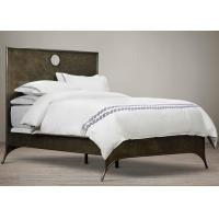 Wave Embroidered White Modern Duvet Covers And Shams 100% Cotton 4 Pcs Manufactures