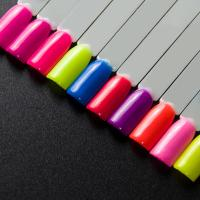 China western style neon glitter neon color loose powder laser manicure neon powder on sale