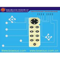 Flexible LED Tactile PCB Membrane Switch With Green Oil Printed Manufactures