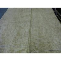 China Sliced Cut Natural Tamo Ash / Burl Wood Veneer Sheet on sale
