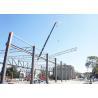 Unique Column Removing Truss Steel Structure , Grey Steel Building Workshop Manufactures