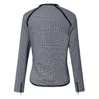 Quality Autumn / Spring Geometrical Jacquard Warm Womens Jackets For Girls for sale