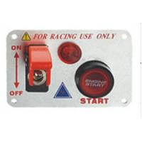 12 Volt Power Speediness Racing Car Switch Panel With Red Indicator Light Manufactures