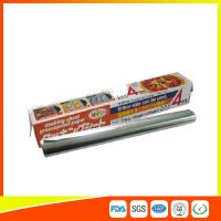 Heat Resistant Household Aluminium Sheet Roll For Food Packing With FDA SGS Certificate Manufactures