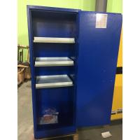 Grounding Corrosive Safety Cabinets , Acid Storage Containers 22 GAL Lockable Manufactures