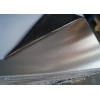 Quality Mirror Polishing Sheet Of Stainless Steel , Cold Rolled Brushed Stainless Steel Sheet for sale