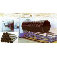 Hollow Wall HDPE Pipe Extrusion Machine , 200 - 2000mm Large Diameter Manufactures