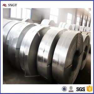 China metal building metrial/steel strip /zinc coated hot dip galvanized steel strip tape on sale