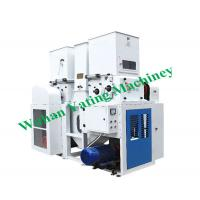 Double Desk 6TPH 16TPH Rice Hulling Machine With Gear Box Manufactures