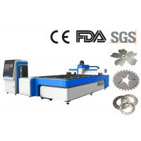 2.5mm Stainless Steel Laser Cutting Machine 3015 With 500w Fiber Laser Metal Laser Cutting Manufactures