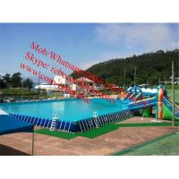 Metal Frame Pools For Family Yard , Blowing Up Inflatable Pools Metal Frame Pool Manufactures