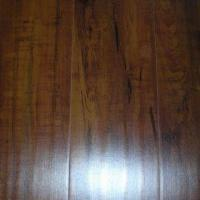 Laminate Flooring with Distressed Surface and Beveled Edges Manufactures