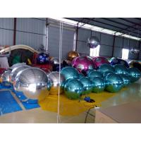 PVC Inflatable Mirror Ball Customized Colorful Inflatable Ball For Fashion Show Manufactures