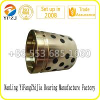Quality Copper Alloy Buried Solid Lubricating Bushes, graphite bush,brass bush for sale