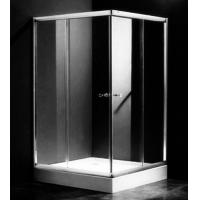 Single Rectangular Shower Cubicles , 1000 X 800 Two Sided Glass Shower Enclosure Manufactures