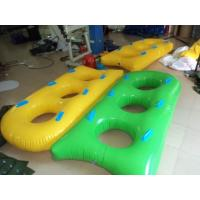 Yellow / Green Hard Bottom Inflatable Boats SEPPA Material OEM Manufactures