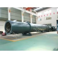 Steam Heating Sand Rotary Dryer Low Temperature Drying Remote Control Manufactures