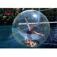 Giant Inflatable Ball / Inflatable Ball You Get Inside For Water Dance Manufactures
