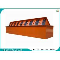 Heavy Duty Hydraulic Road Blocker Traffic Stainless Steel Spike Manufactures