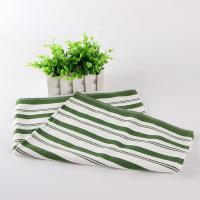 White And Green Kitchen Tea Towels , Printed House Kitchen Dish Cloths Manufactures