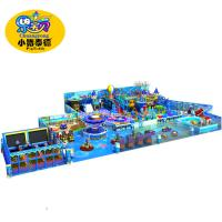 Professional Indoor Play Centre Equipment , Happy Baby Large Indoor Play Structures Manufactures