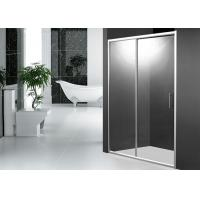 2 Panel 1200mm Sliding Shower Door 1900mm Height with Aluminum Alloy Frame Manufactures