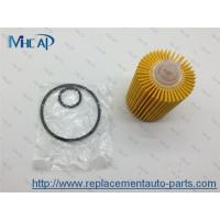 04152-38010 Replacing Oil Filter In Car , Paper Oil Filter Car Filtration Manufactures