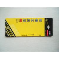 Colorful Blister Card Packing For Knife Packaging With Hang Hole Manufactures