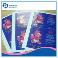 Self Adhesive Sticker Paper Sheet , A4 Self Adhesive Labels With Gold Hot Stamping Manufactures