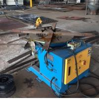 Welding Positioner Type Pipe flange Rotating Welding Table With Slew Bearing Oil Free Gearbox Manufactures